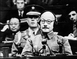 東条英機 東京裁判