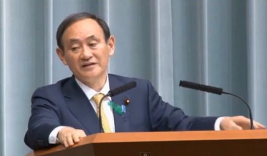 【AIIB】菅義偉長官「ドイツから参加呼びかけの事実ない」(動画あり)