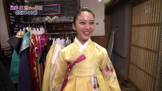 武井咲はあちこちの番組で韓国大好きアピールしてるよね