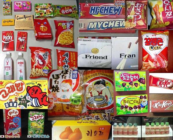 韓国の場合、ロッテに限らず、多くの製菓メーカーが、日本のお菓子をパクっており、例を挙げたら限がない!
