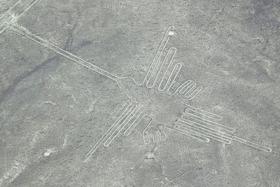 世界遺産「ナスカの地上絵」=2010年9月(ロイター=共同)