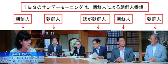 TBSサンモニ多数の朝鮮人による日本国憲法特集。完全に朝鮮人の朝鮮人による朝鮮人のために番組