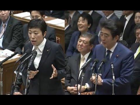 安倍無双「辻元清美さんが、まるで日本が危険な国だという、とんでもないとおもう」