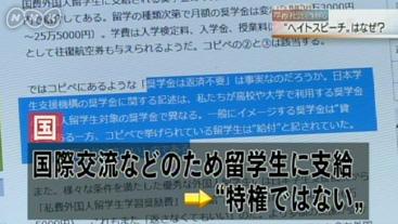 """2015年2月19日NNK放送 首都圏ネットワーク戦後70年・摩擦社会を生きる(4)""""ヘイトスピーチ""""はどこへ"""