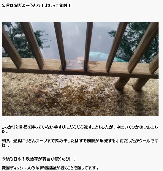 韓国人が靖国神社で放尿しネットで自慢