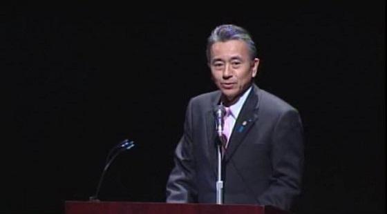 日本・韓国・欧州 多文化共生都市国際シンポジウム (鈴木康友浜松市長)