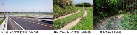 農15_5_1 田んぼ周辺の道
