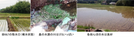 農15_5_11 田の水状態