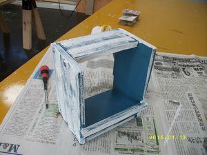 スタジオホルダー塗装②