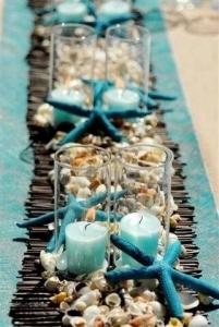 結婚式テーブル装飾貝殻2