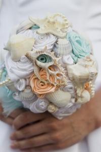 貝殻ブーケ1