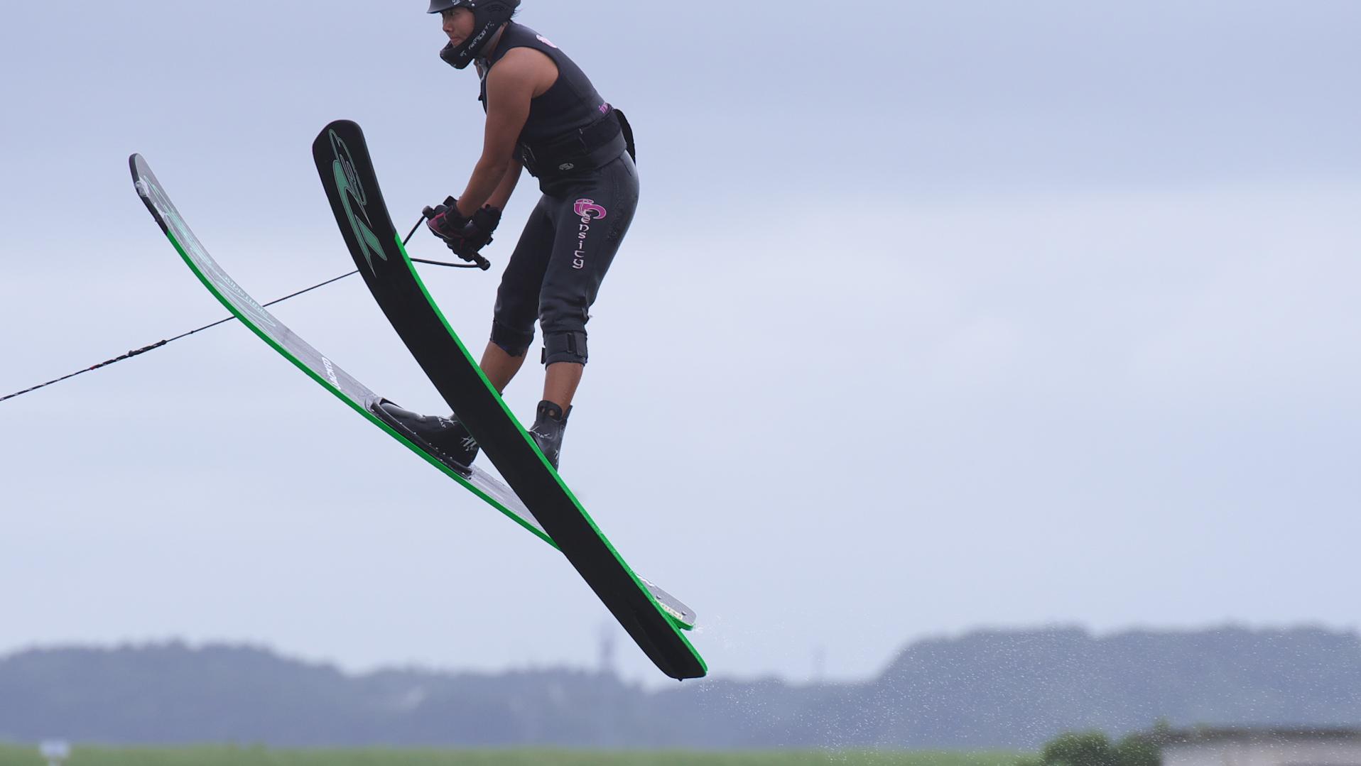 女子ジャンプ、G大S・Nさん飛翔頂点