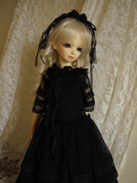 SD少女ドレス Black Rose 12
