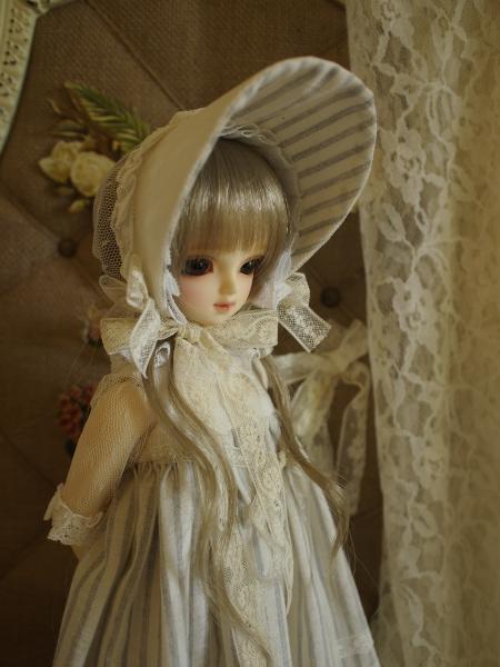 ミニっ子ドレス ストライプ 3