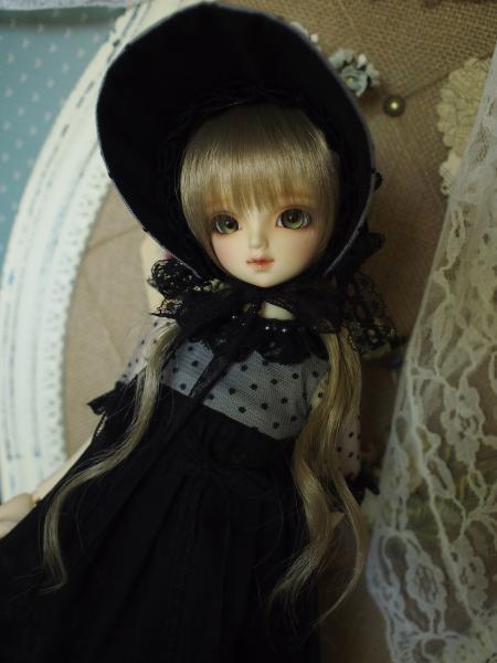 ミニっ子ドレス 黒 3