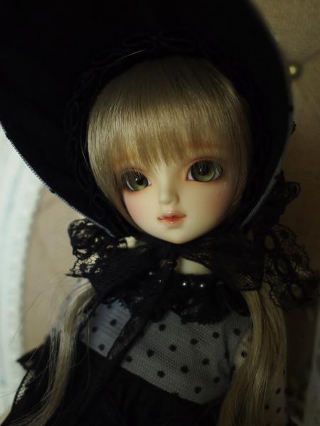 ミニっ子ドレス Feel the Breeze  黒