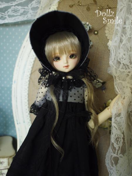 ミディっ子ドレス 黒 2