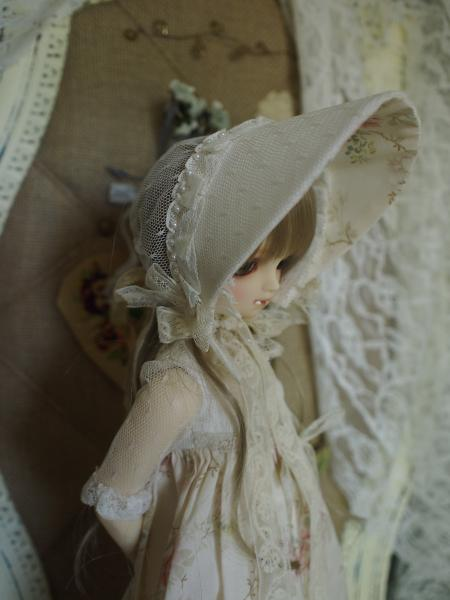 ミニっ子ドレス 薔薇柄 4