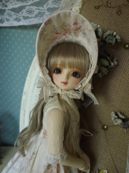 ミニっ子ドレス 薔薇柄 6