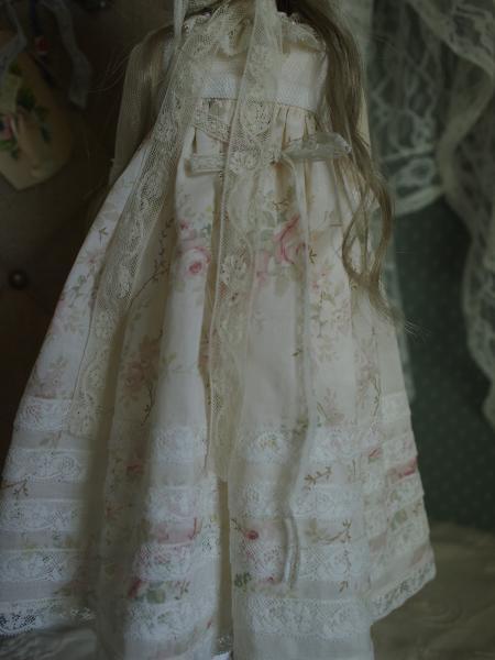 ミニっ子ドレス 薔薇柄 7