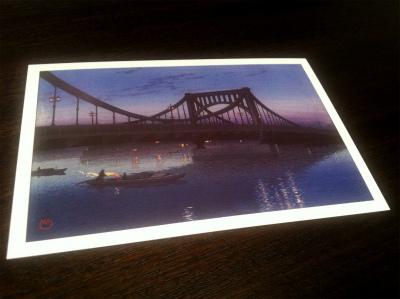 川瀬巴水展201501 ポスカ1