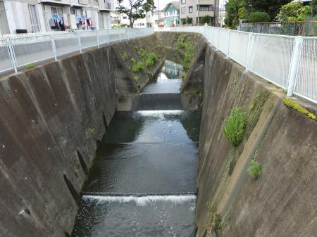 真福寺川河口付近流路工