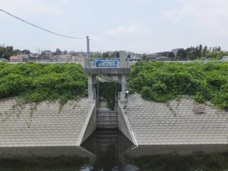 境川・今田遊水地排水ゲート