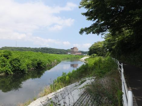 境川・鷺舞橋下流