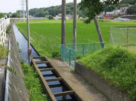 西俣野土地改良区用水路
