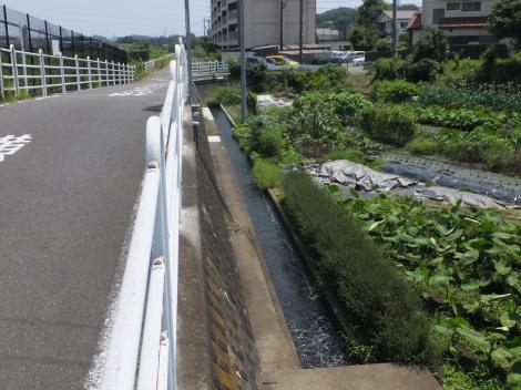 俣野堰用水路