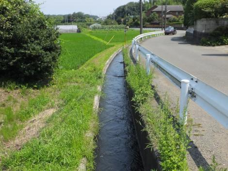 俣野堰用水路・藤沢市西俣野