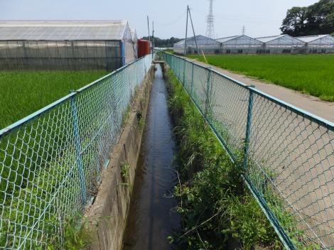 排水路・藤沢市西俣野