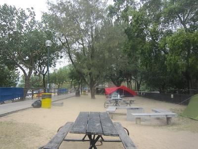 貝澳ビーチキャンプ場