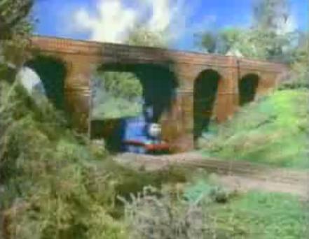トーマスの支線の高架橋5