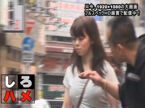 無修正 しろハメ ななせ ミニスカのGALを求め新宿は歌舞伎町へ