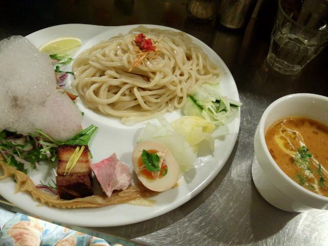 20150206新宿御苑前麺や 庄のgotsubo2