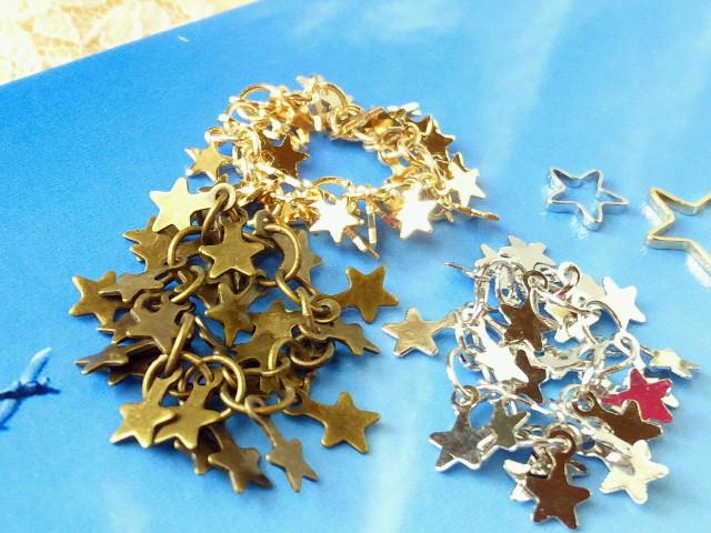 ドール用星いっぱいしゃらんらブレスレット2