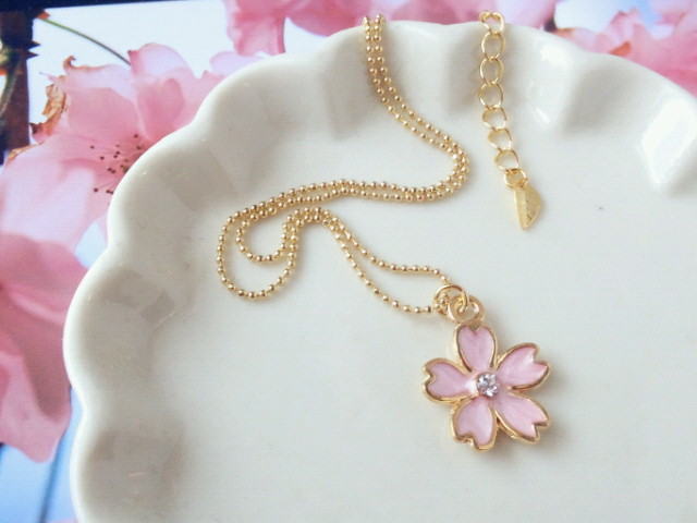 ラインストーン桜のNCピンク1