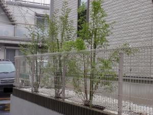 植栽工事 (横浜市鶴見区馬場) :エクステリア横浜(神奈川県・東京都の外構工事専門店)