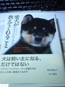 書籍のご紹介 「愛犬が教えてくれること」 :エクステリア横浜(愛犬と過ごすお庭空間のご相談をお受けしています。)