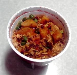 世界のグル麺 トマトサルサ味ヌードル(できあがり)
