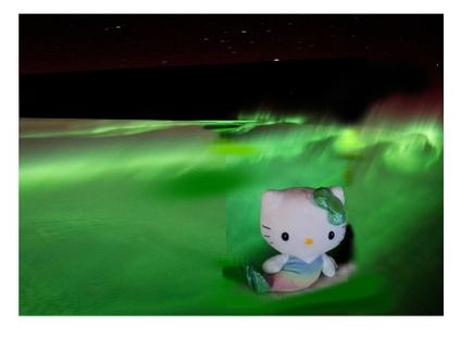 宇宙のキティちゃん1