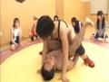 女子レスリング部員達の逆レイプが凄い!
