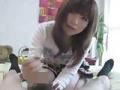 a●ko似の可愛い子のフェラ・足コキ・手コキ