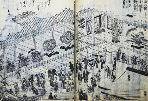 「都林泉名勝図会」より「西六条本願寺」