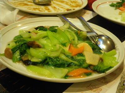 中国野菜炒め