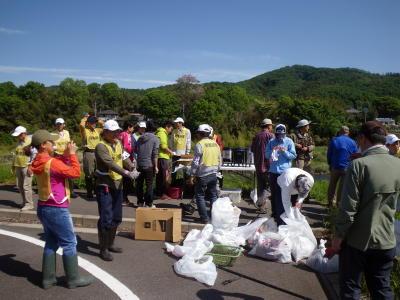 渡良瀬河川清掃3