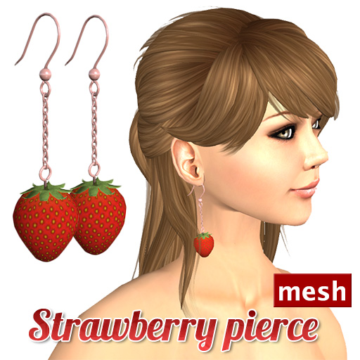 Secondlife Mesh Pierce Luckyboard