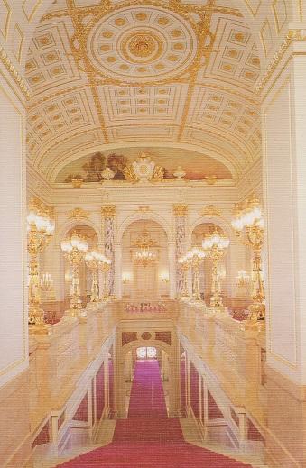 迎賓館05 中央階段
