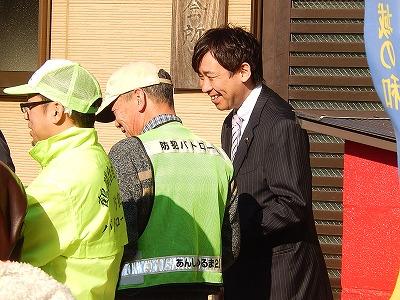 20150117鶴間台餅つき03